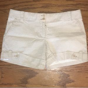 🌼SALE🌼 Juicy Couture Tan Striped Shorts